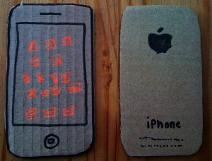 Carboard iPhone 5