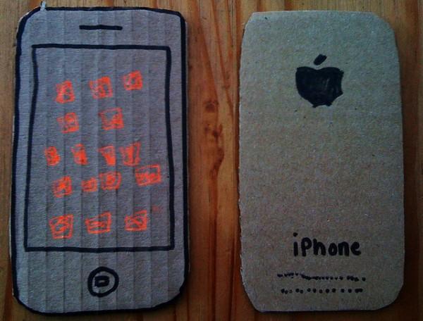 Сделать iphone своими руками