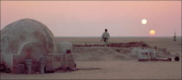 Luke Skywalker, Tatooine