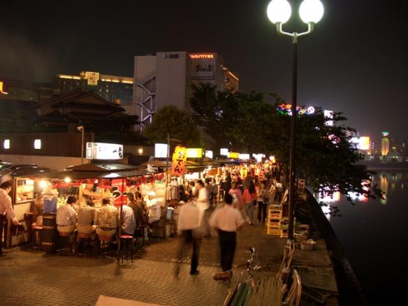 Fukuoka Food Stands