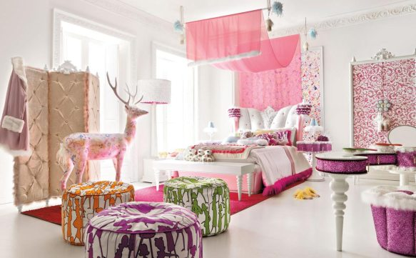 A little girls room